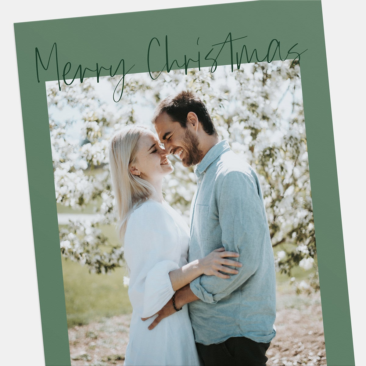 Simply Handwritten Holiday Card