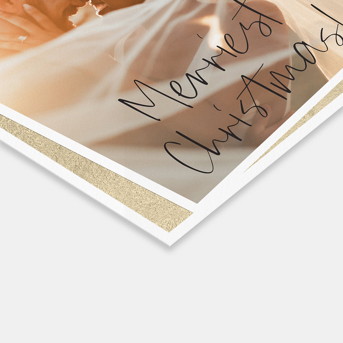 Foil Photo Print Card
