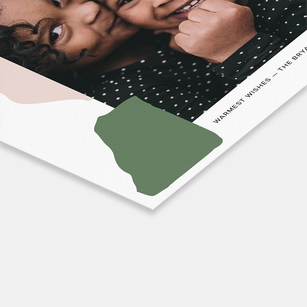 Playful Palette Holiday Card