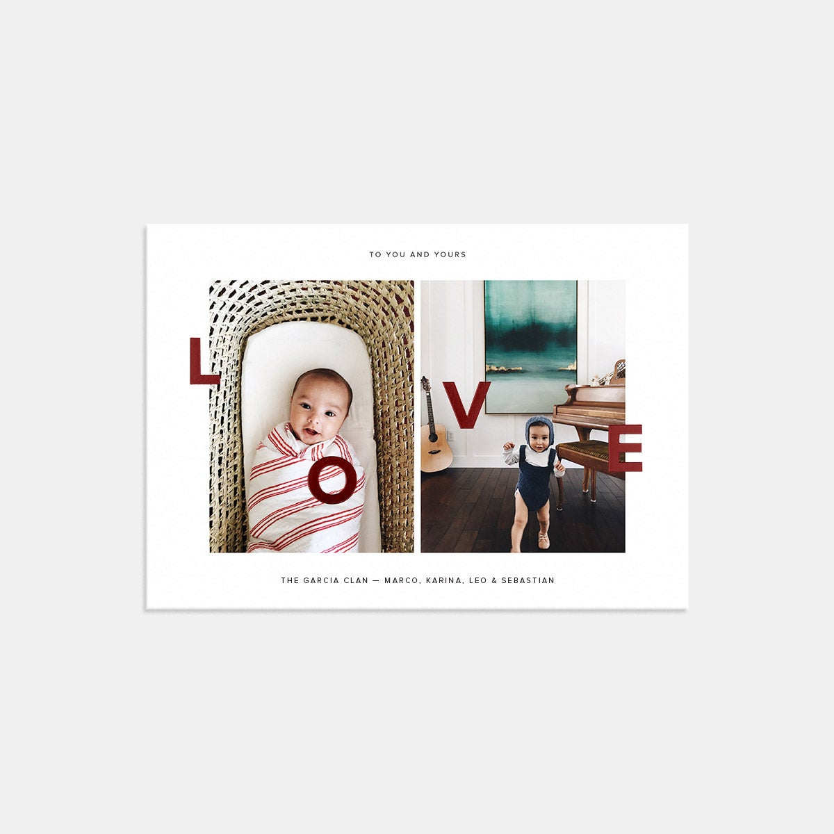 Duo-Image Love Card