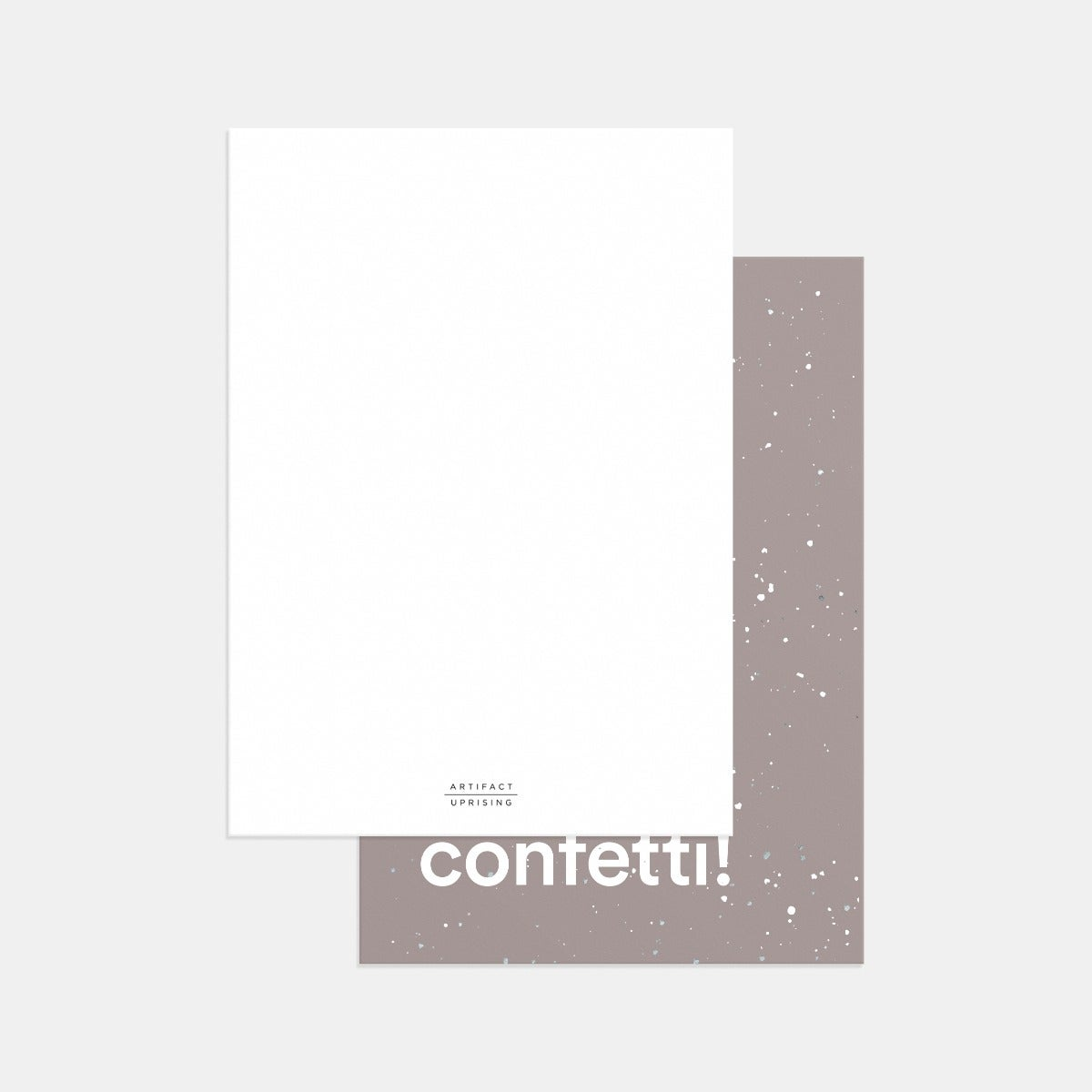 Speckled Confetti Birthday Card