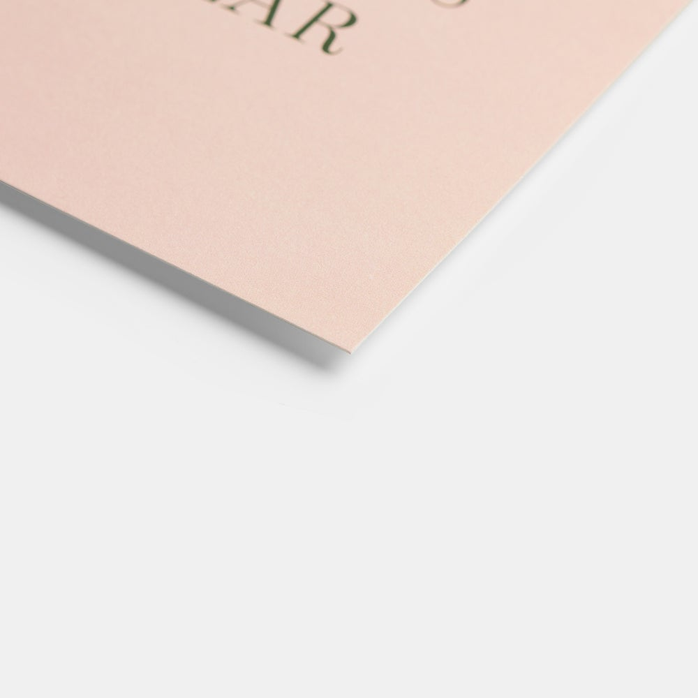 Gather Good Hearts Card (Serif)