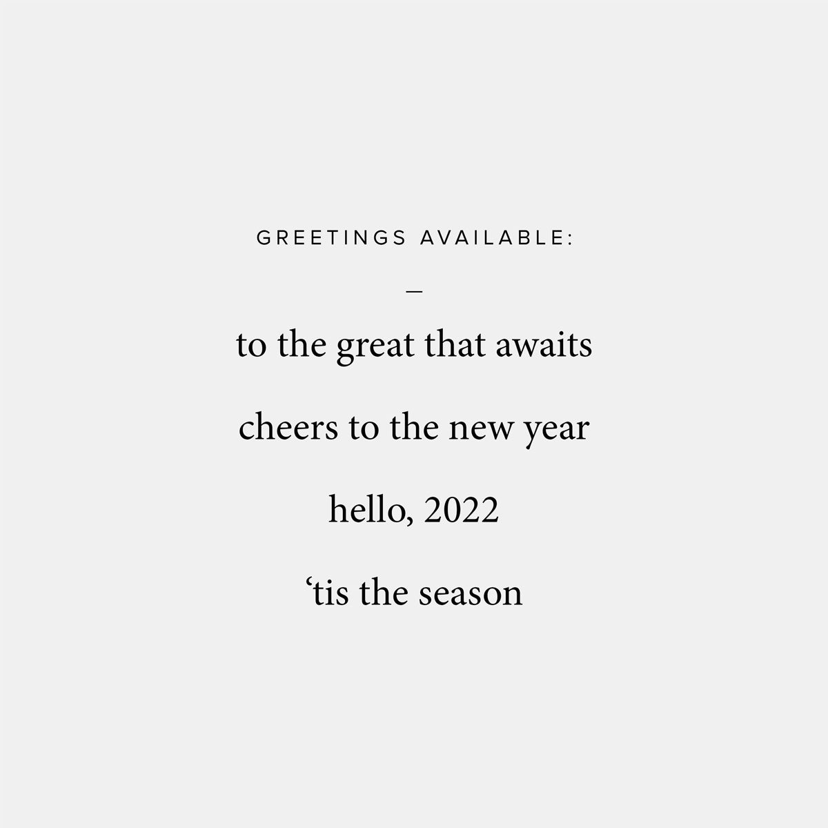 3-Image New Year Card