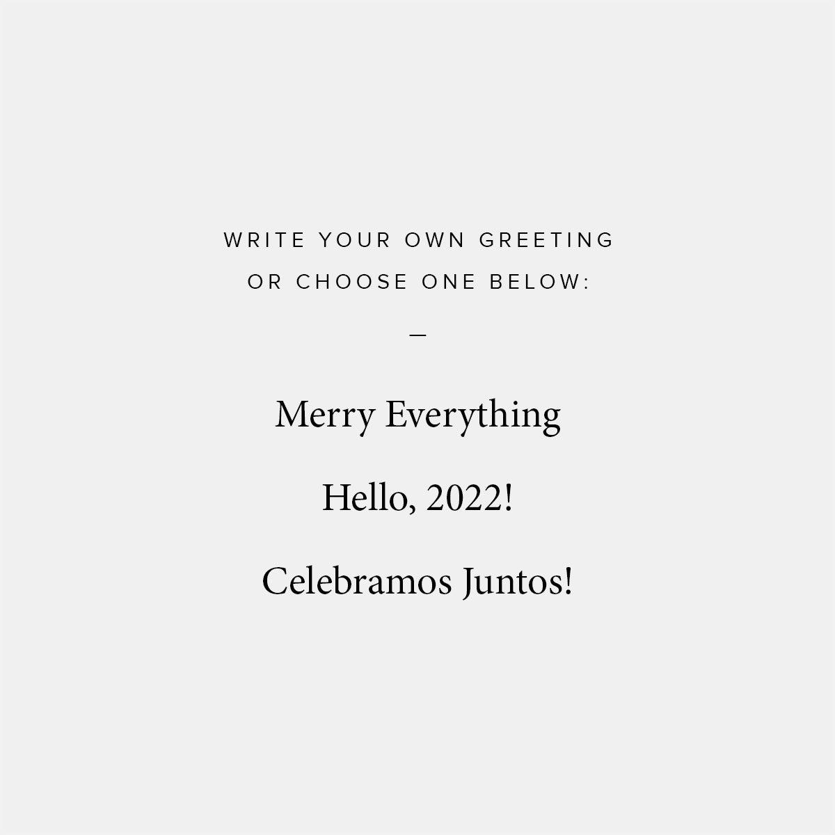 Bold Banner Holiday Card