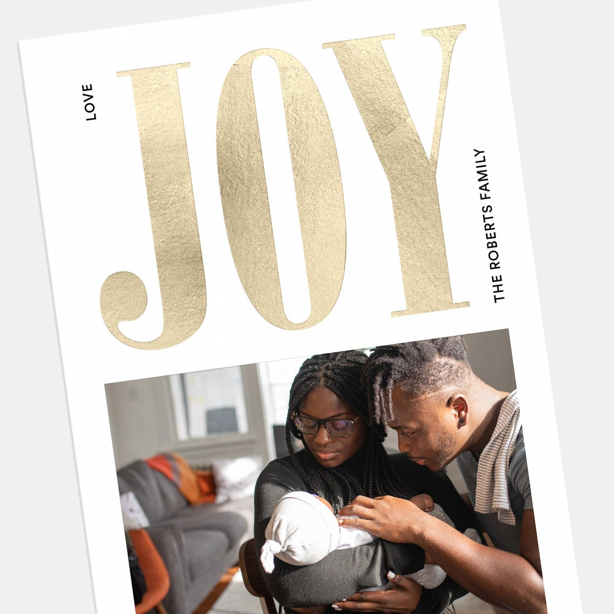 Bold Joy Holiday Card