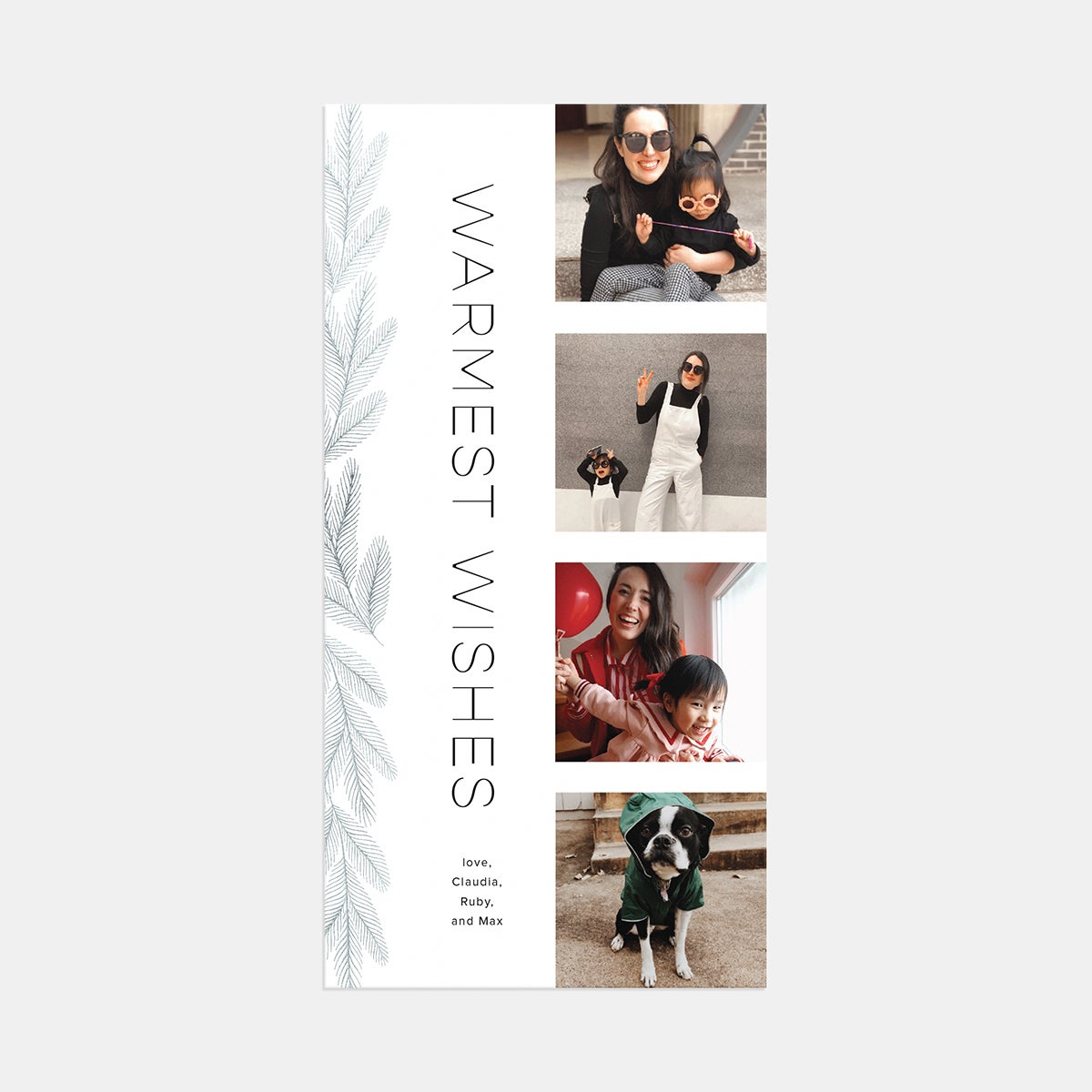 Bough Film Strip Holiday Card