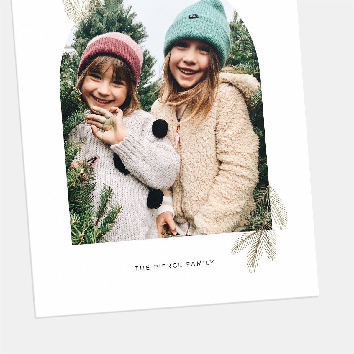 Bough Window Holiday Card
