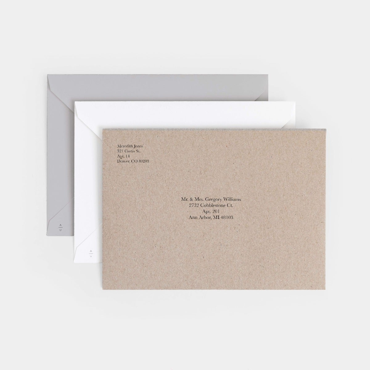 Side-by-Side Thank You Card