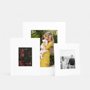 Matted Print Refills for Frames