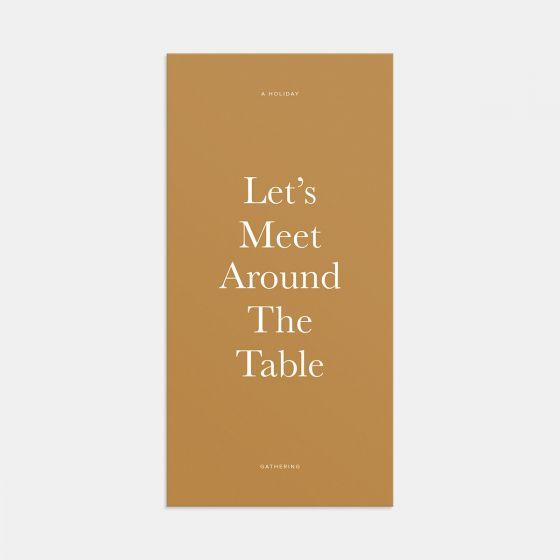 Around the Table Gathering Invitation