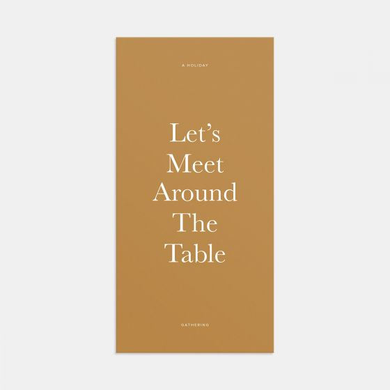 Around the Table Gathering Invitation