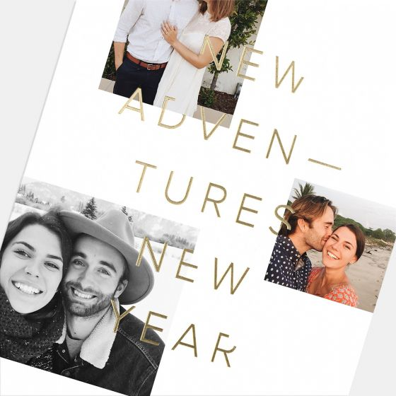New Adventures, New Year Card