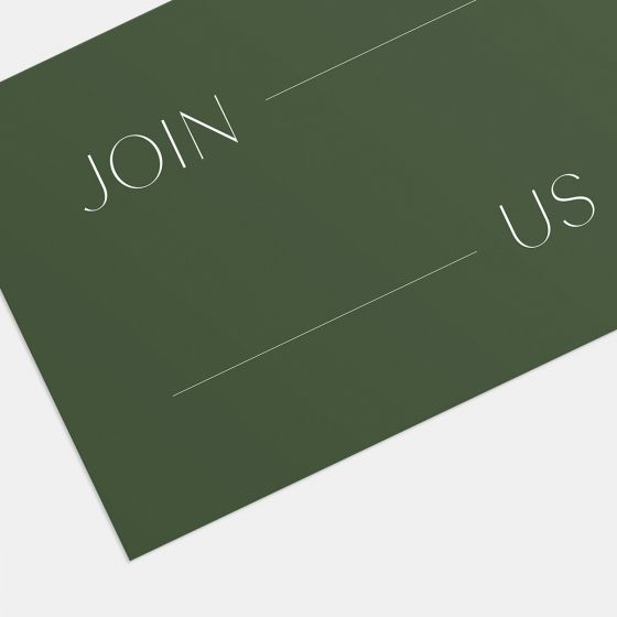 Join Us Gathering Invitation