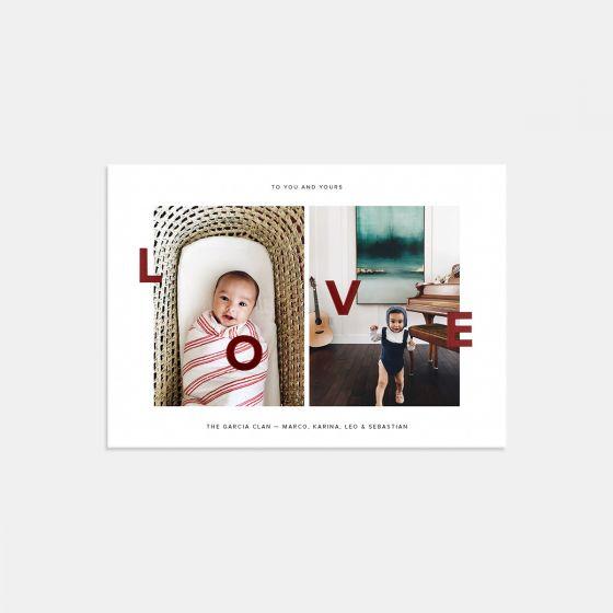 Duo-Image Love Card