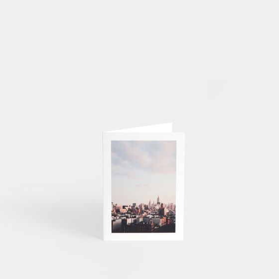 folded card 3x5