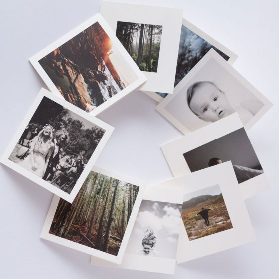 Folded Photo Cards – 5x5