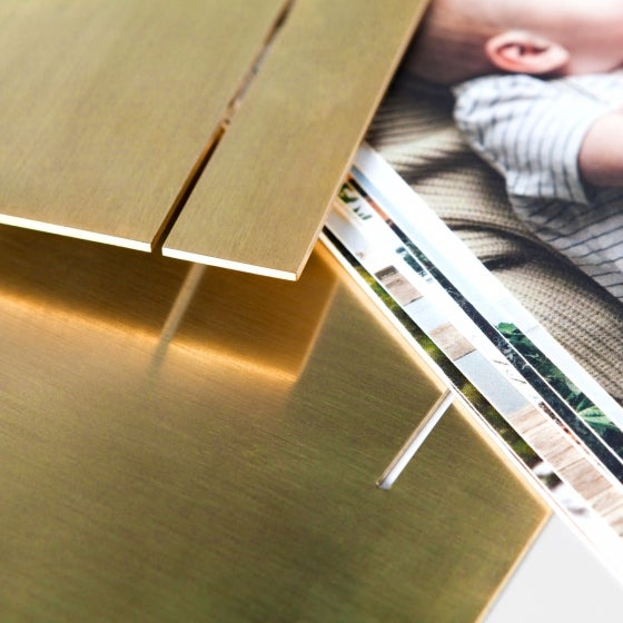 Brass Easel & Prints