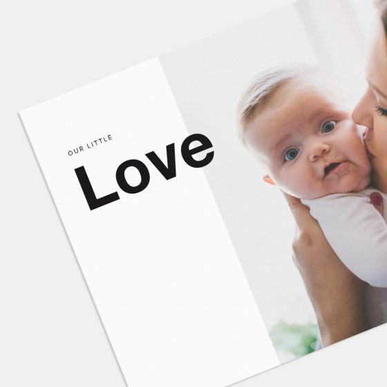 Our Little Love Birth Announcement