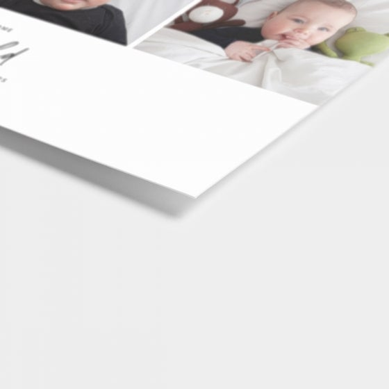 Multi-Image Baby Announcement