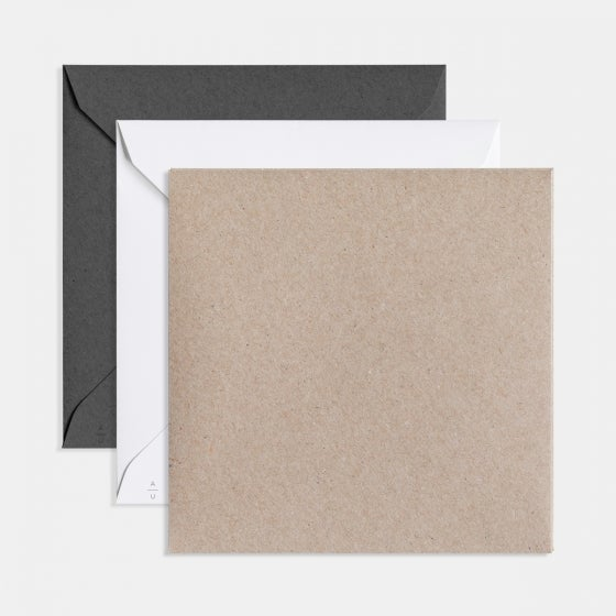 Modern Square Holiday Card