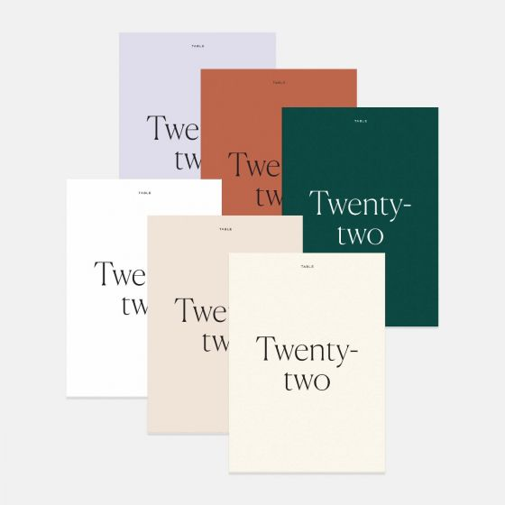 Colorblock Table Numbers