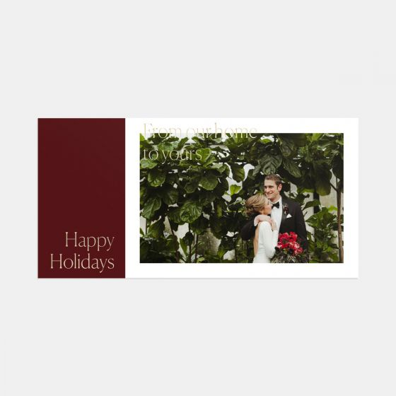 From Our Home to Yours Card & Gift Tag