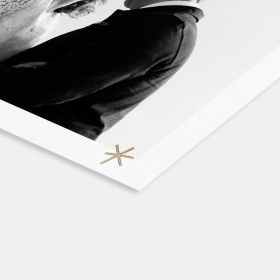 Hand-Drawn Stars Card & Gift Tag