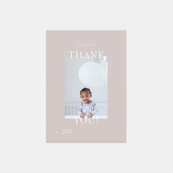 2018 Thank You Card