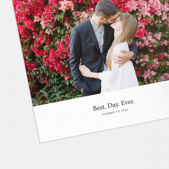 Best Day Ever Thank You Card
