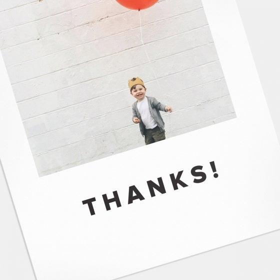 Bold Thank You Card