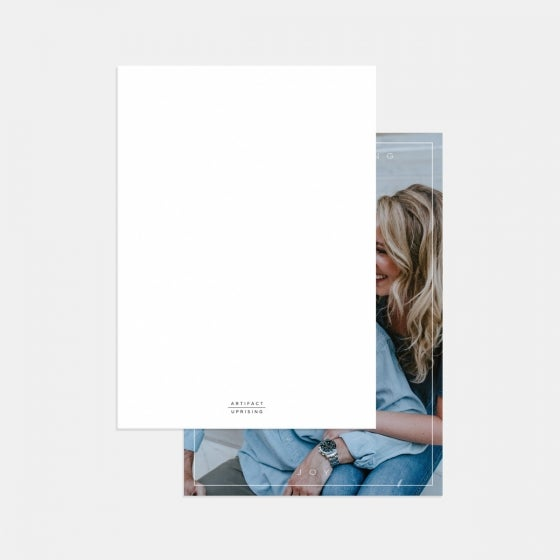 Minimal Bordered Joy Card