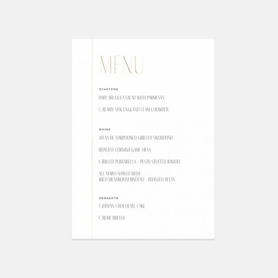 Minimal Day-Of Details Card