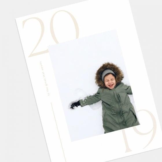 Modern 2019 New Year Card