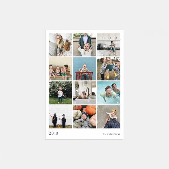 Multi-Image 2018 Holiday Card