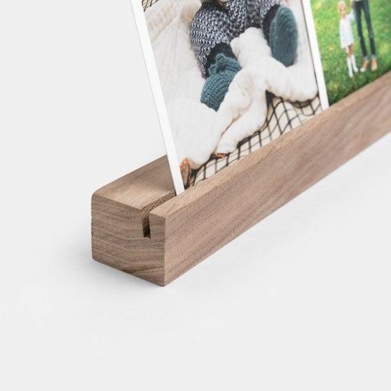 Wooden Photo Ledge