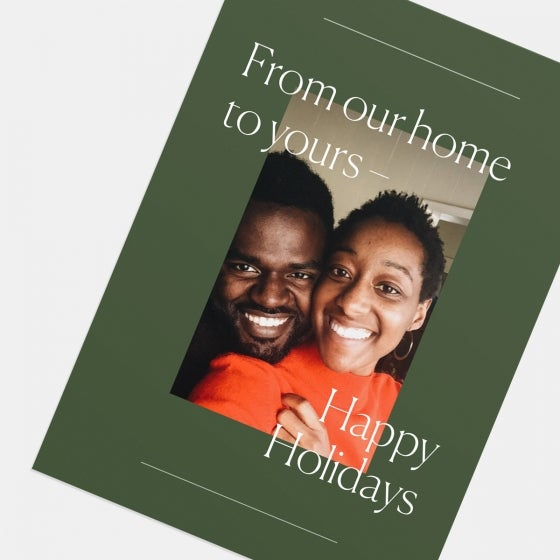 Our Home to Yours Holiday Card