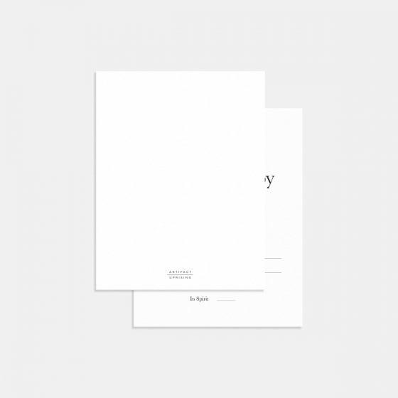 Fine Lines RSVP Card