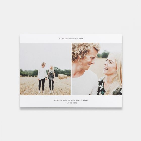 Save Our Wedding Date Card