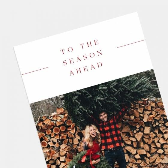 Season Ahead Holiday Card