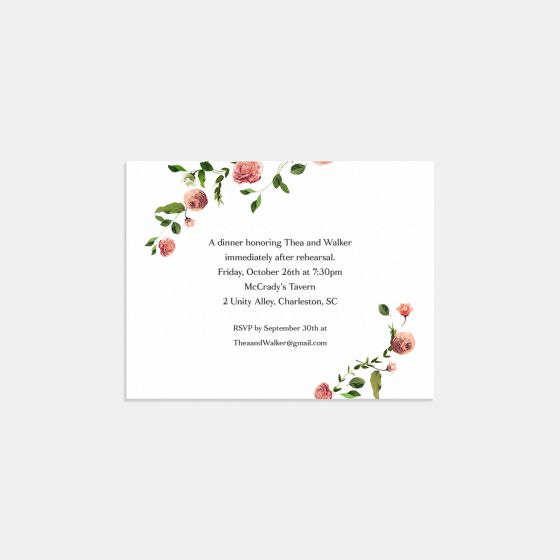 Venamour Botanical Enclosure Card