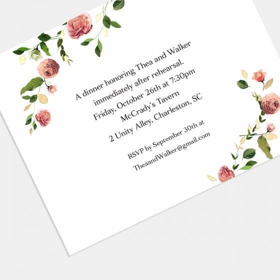 Venamour Botanical Enclosure Card with Foil