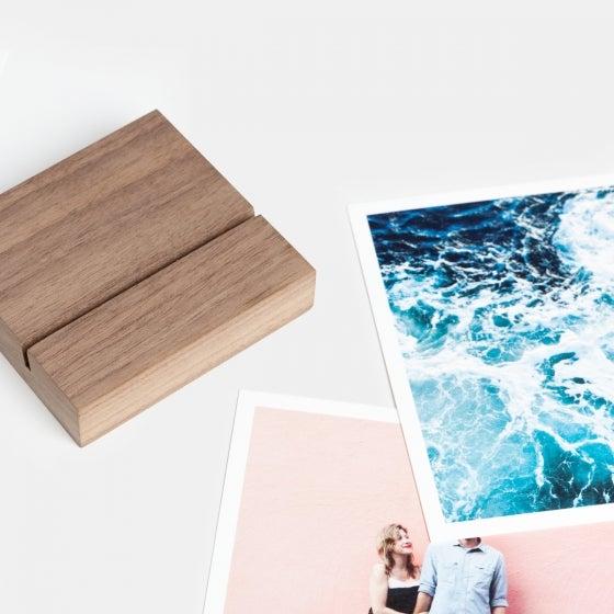 Walnut Print Block