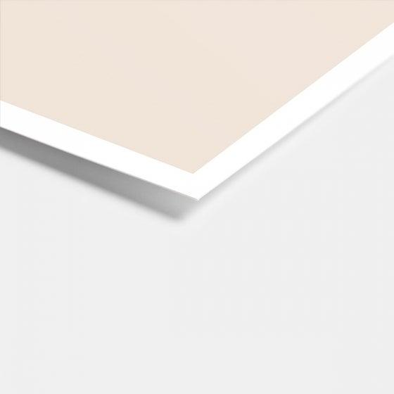 Colorblock Enclosure Card