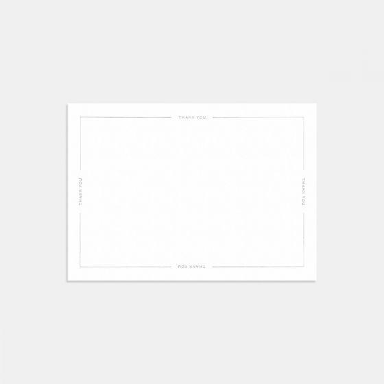 Letterpress Union Thank You Card