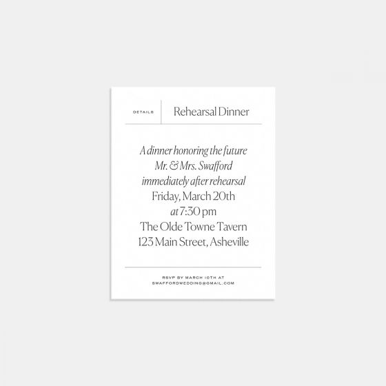 Elemental Enclosure Card