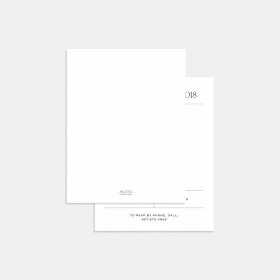 Elemental RSVP Card