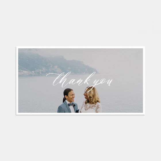 Hand-lettering Thank You Card