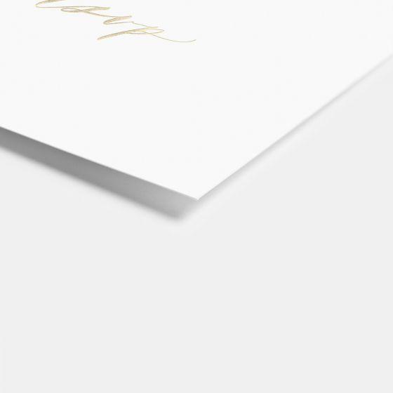 Foil-Stamped Hand-Lettering RSVP Card