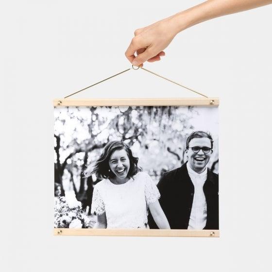 Wooden Print Hanger