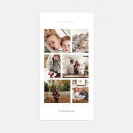 Clean Line Multi-Image Card